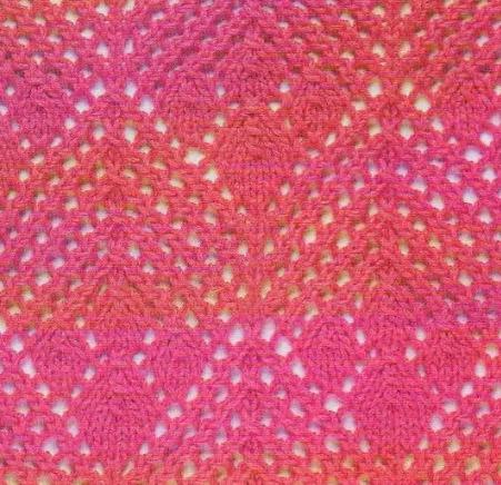 Узоры-резинки для вязания спицами бесплатно 55