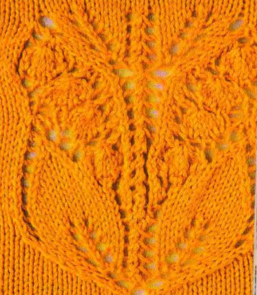 Красивые узоры для вязания спицами для шарфов как вязать.