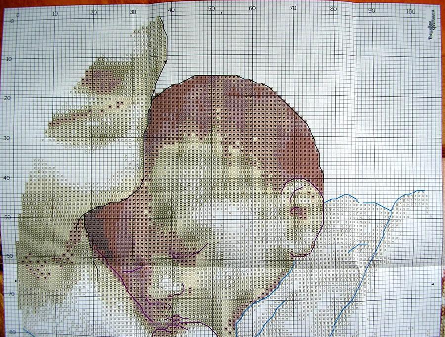 Схема мамина радость вышивка